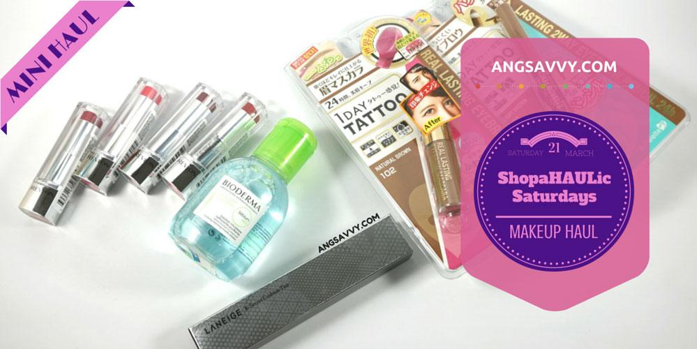 ShopaHAULic Saturdays Makeup Haul Revlon Ultra HD Asian Beauty