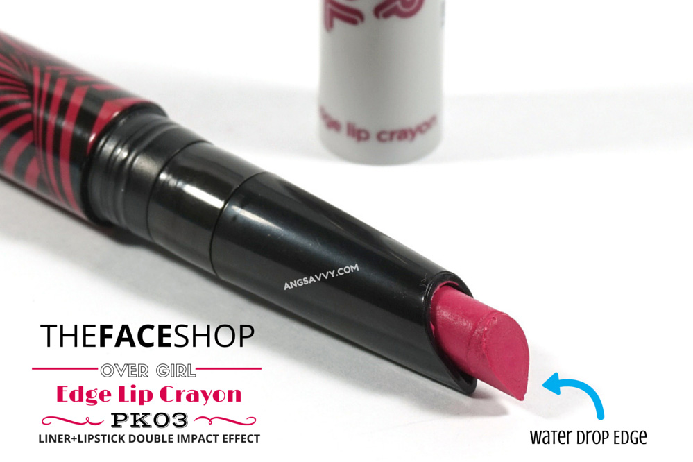 The Face Shop Over Girl Edge Lip Crayon PK03