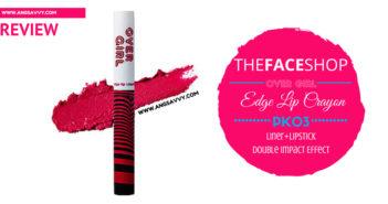 The Face Shop Over Girl Edge Lip Crayon PK03