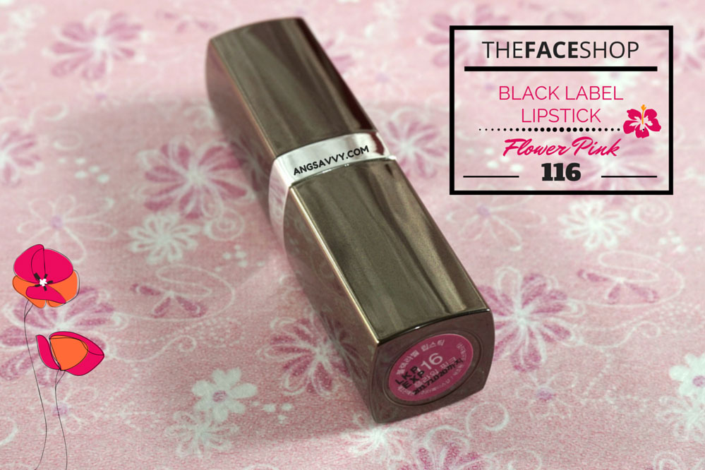 The Face Shop Black Label Lipstick 116 Flower Pink