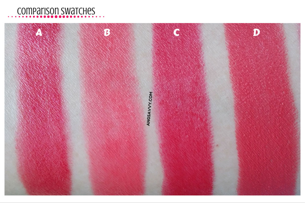 The Face Shop Black Label Lipstick 116 Flower Pink Swatches