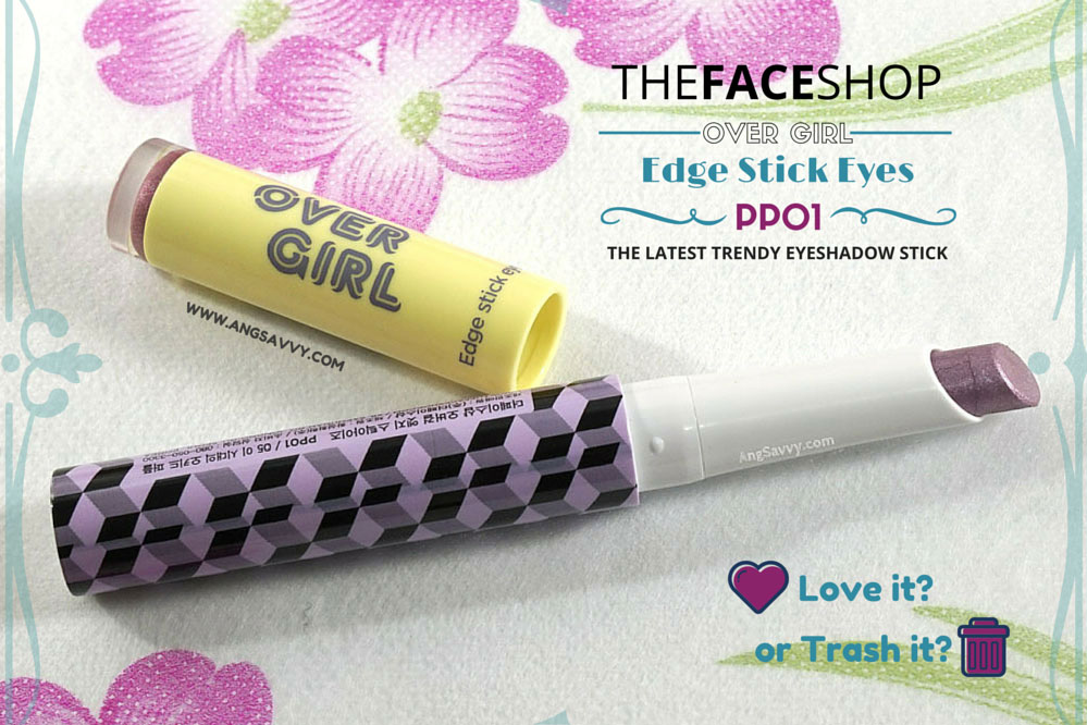 The Face Shop Over Girl Edge Stick Eyes PP01