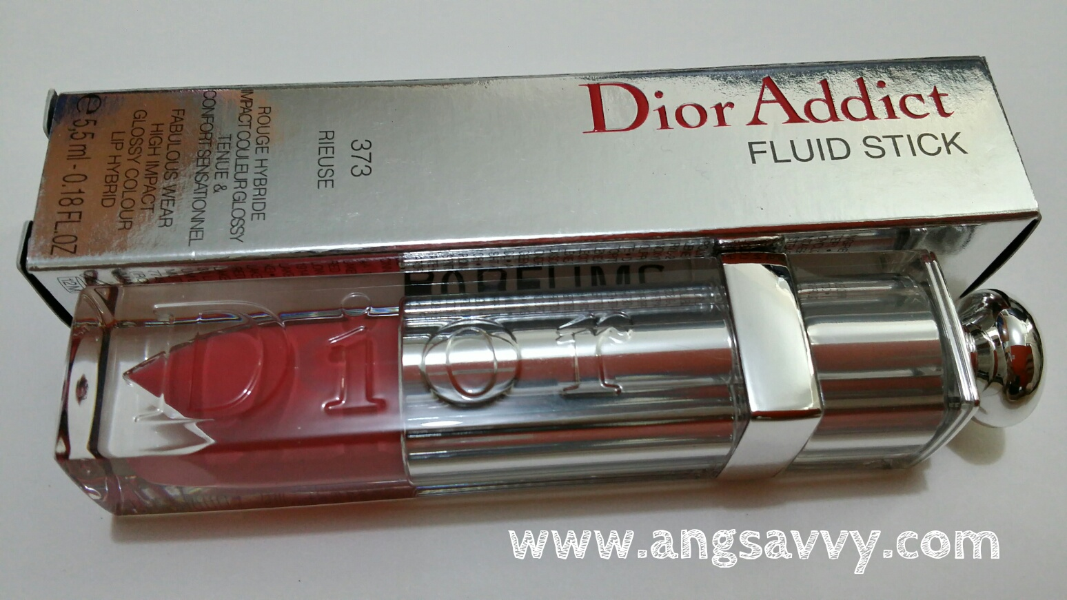 dior, addict, fluid stick, 373, rieuse