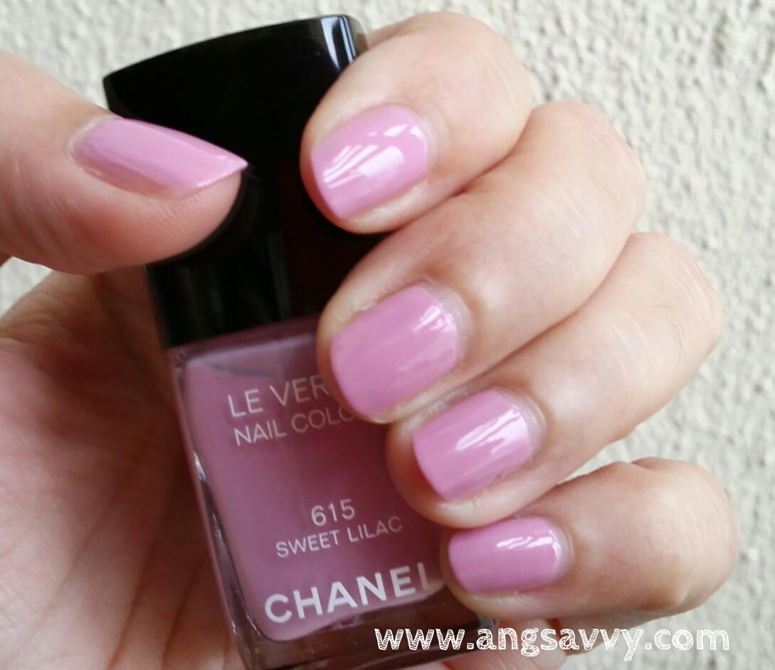 chanel, le vernis, 615, sweet lilac, nail colour