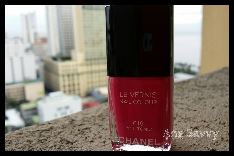 Chanel Le Vernis Nail Colour 619 Pink Tonic