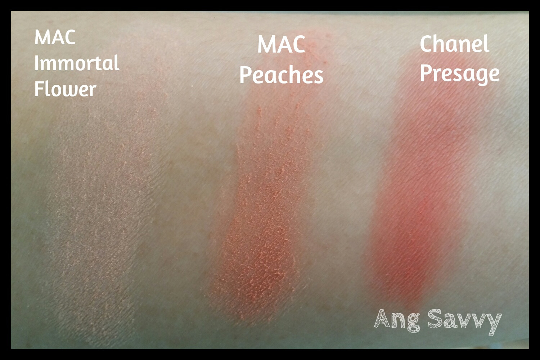 Souvent MAC Peaches Blush – Ang Savvy TB48