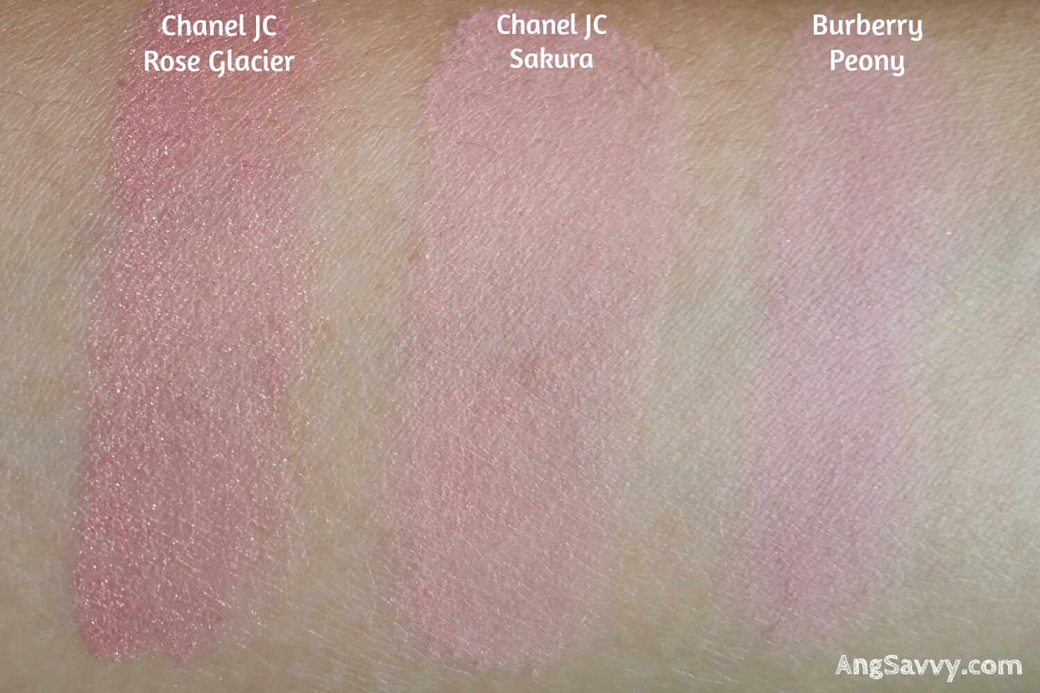 Chanel Joues Contraste Blush 87 Sakura Swatches