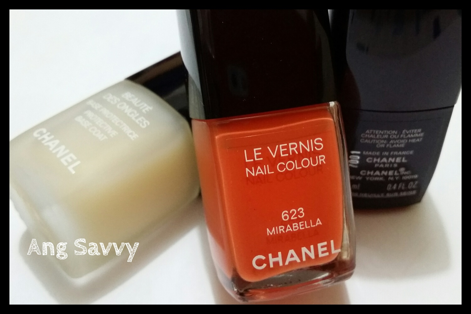 chanel, le vernis, 623, mirabella, nail colour