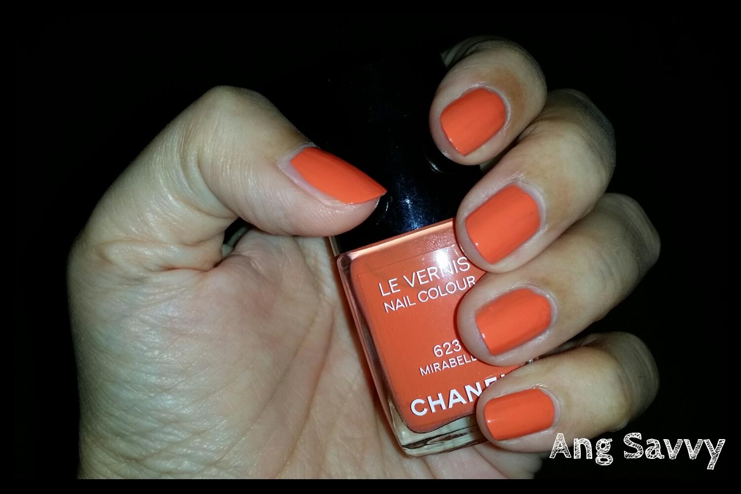 Chanel Le Vernis Nail Colour 623 Mirabella