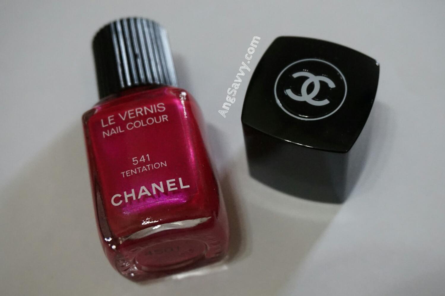 Chanel Le Vernis Nail Colour 541 Tentation