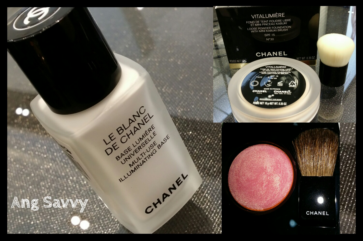 Chanel Joues Contraste Blush 170 Rose Glacier