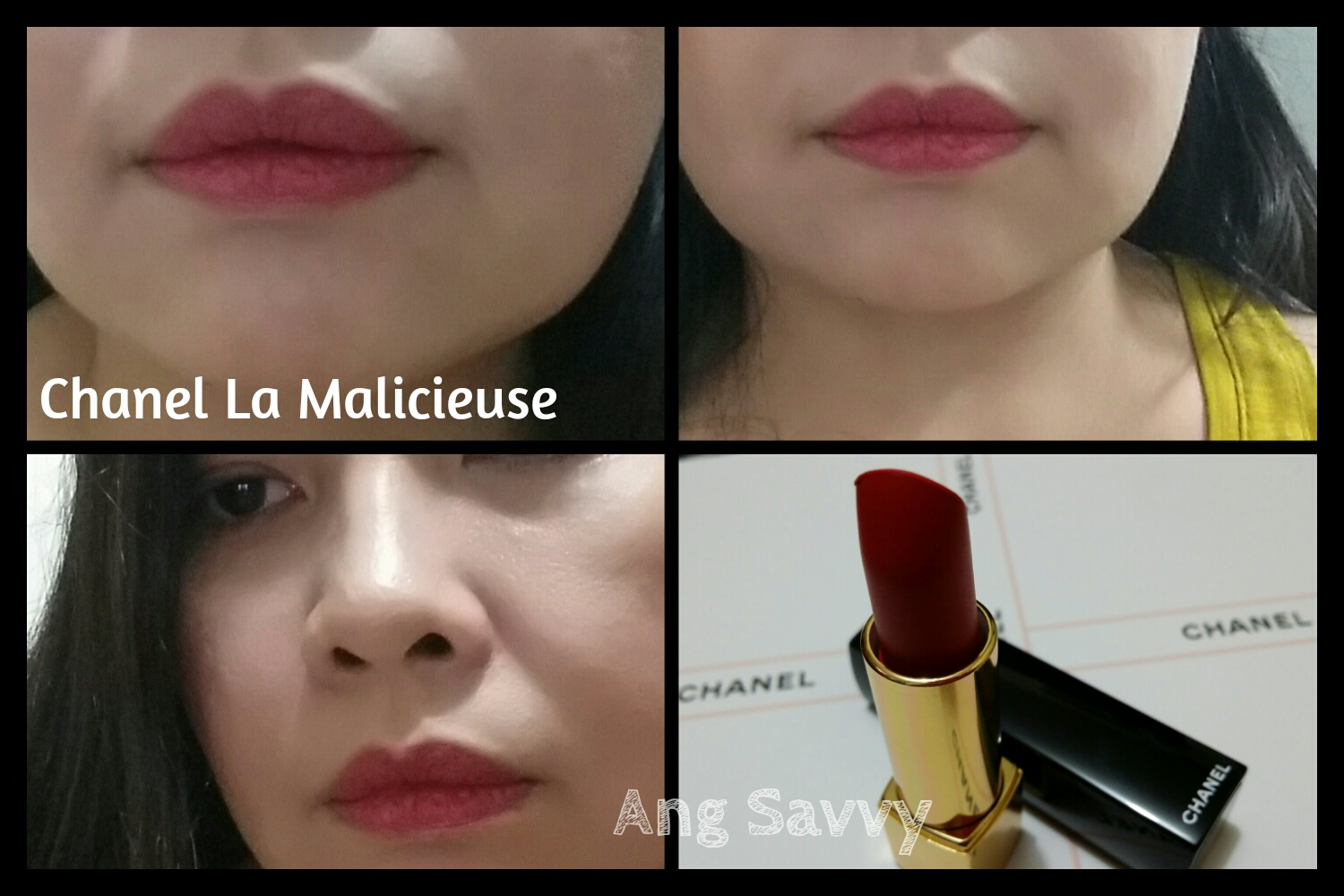Chanel Rouge Allure Velvet 46 La Malicieuse