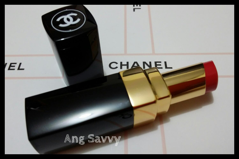 chanel, rouge, coco, shine, 91, boheme, lipstick