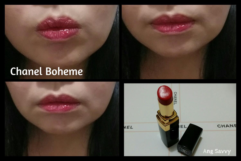 Chanel Rouge Coco Shine 91 Boheme Lipstick