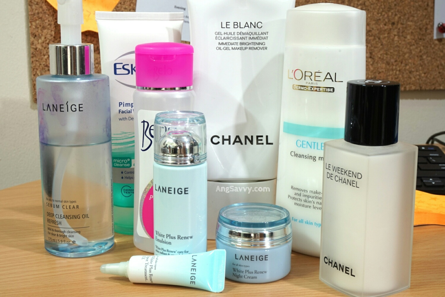 Cleansing products for more beautiful skin
