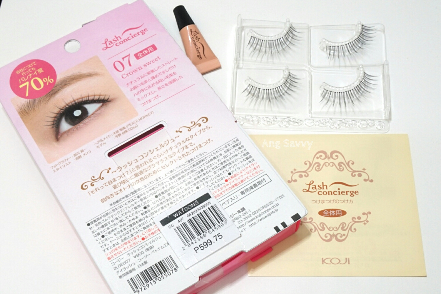 Koji Lash Concierge False Eyelashes 07 Crown Sweet