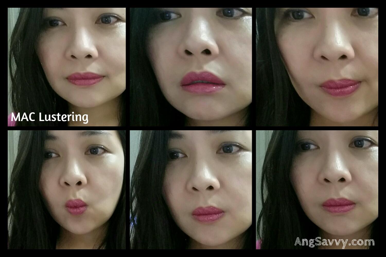 MAC Lustering Lipstick