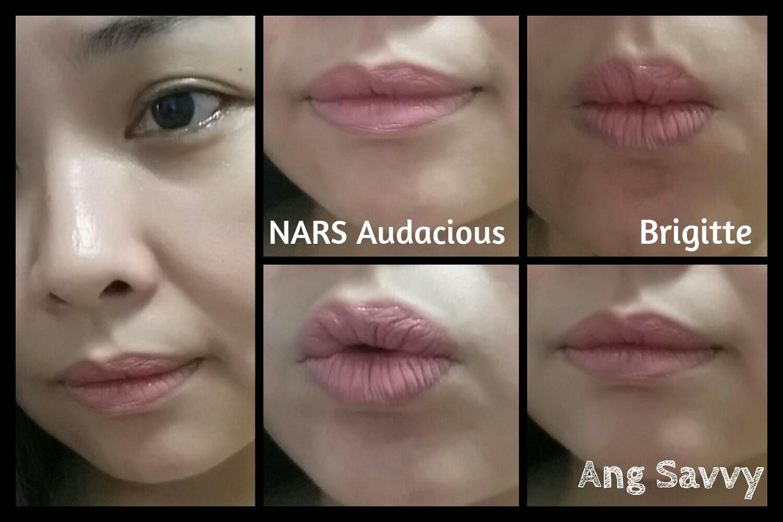 NARS Brigitte Audacious Lipstick