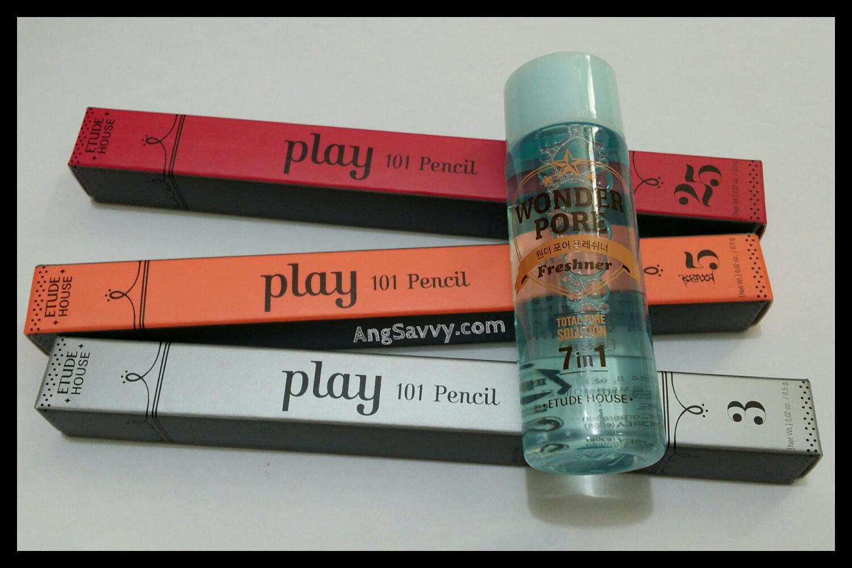 Nars Audacious lipstick and Etude House makeup haul