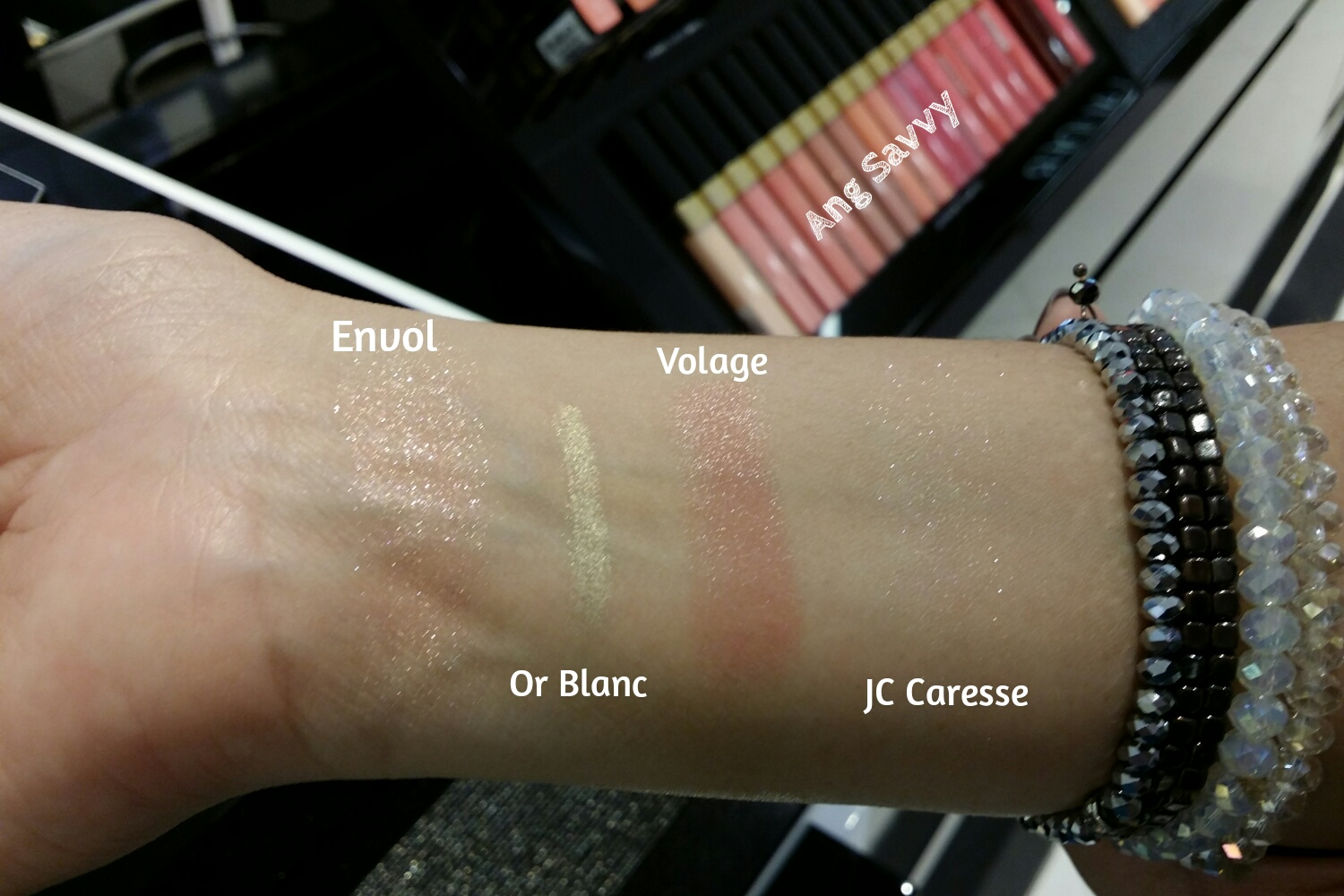 Chanel Holiday 2014 Collection Swatch