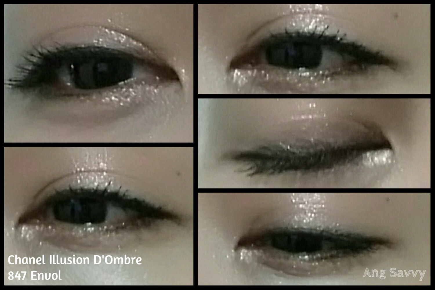 Chanel Illusion D'Ombre Long Wear Luminous Eyeshadow in 847 Envol