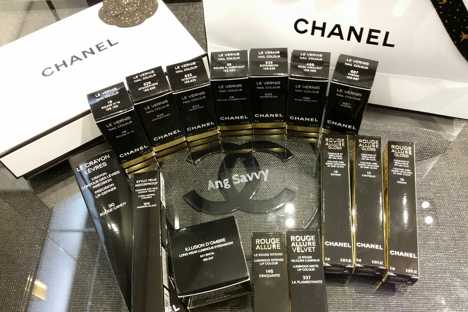 Makeup Haul: Chanel Rouge Allure Gloss and Holiday Collection