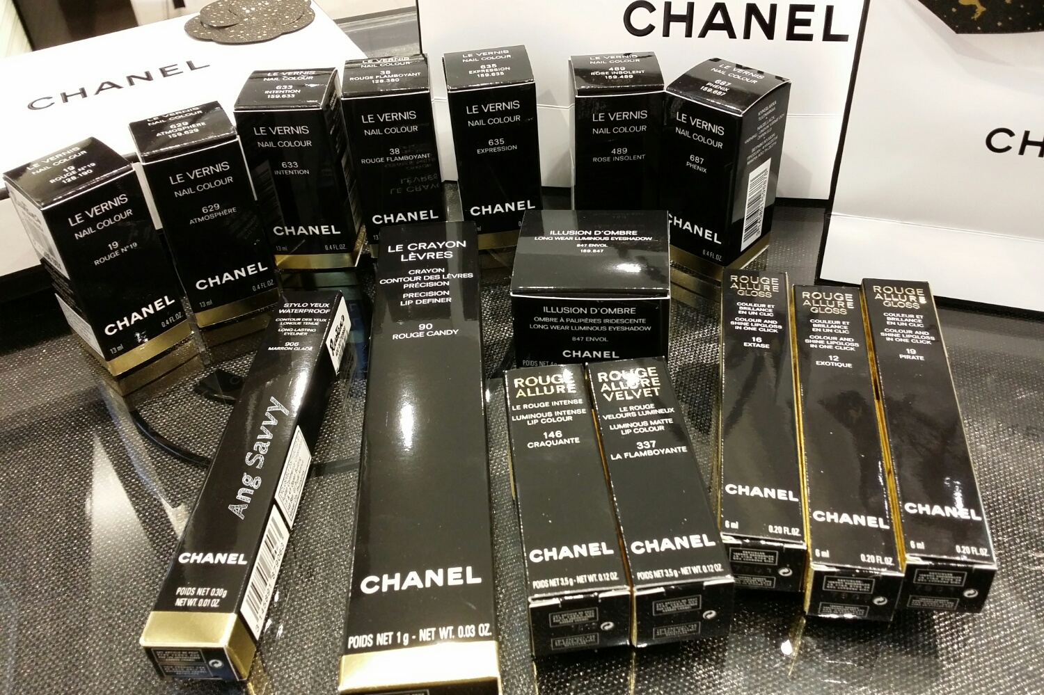 Chanel Makeup Haul