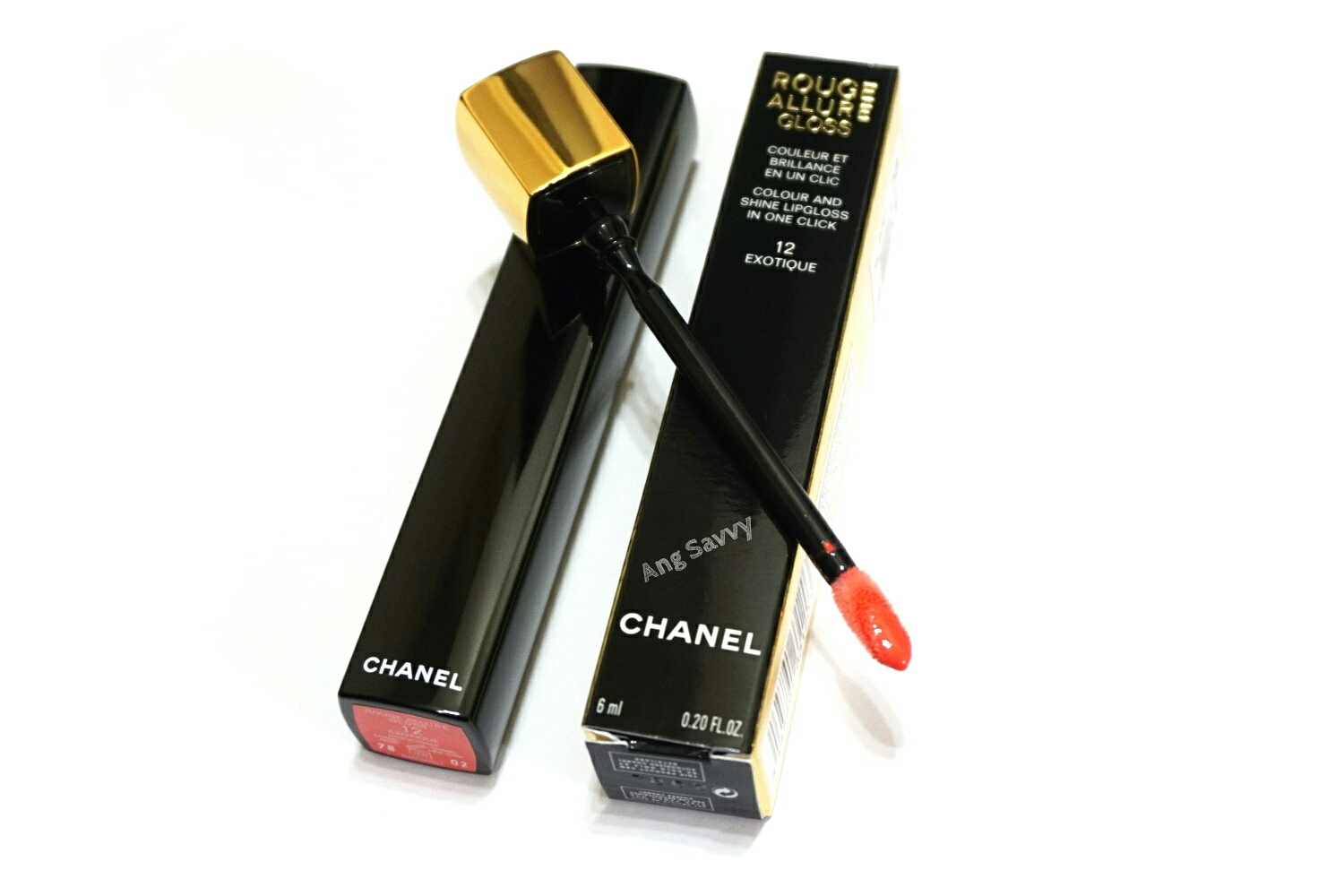 Chanel Rouge Allure Gloss in 12 Exotique