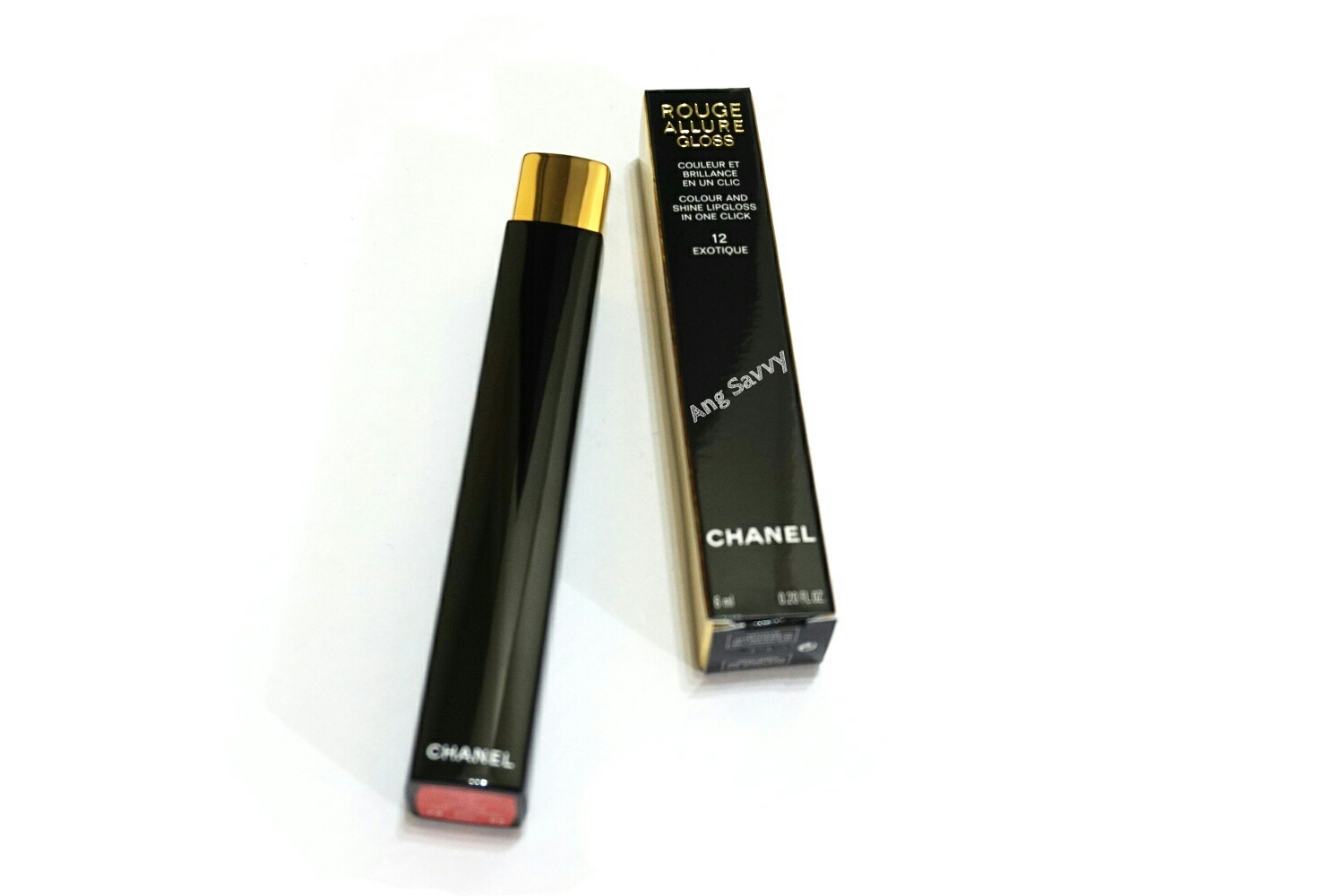 Chanel Rouge Allure Gloss 12 Exotique