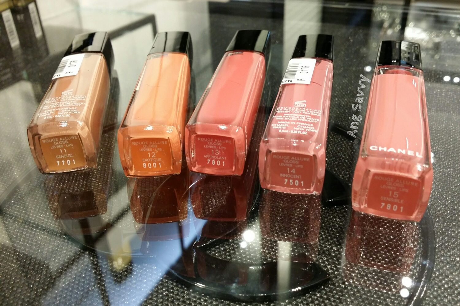 Chanel Rouge Allure Gloss Collection