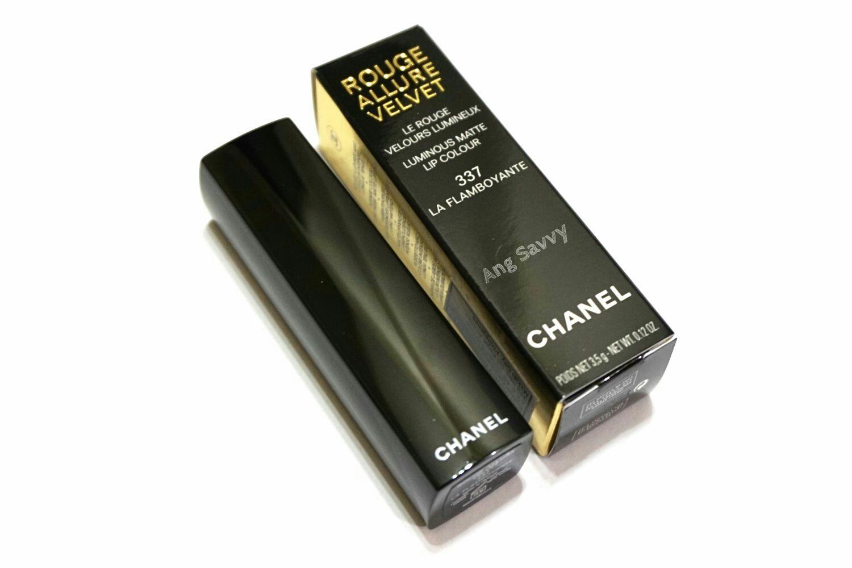 Chanel Rouge Allure Velvet 337 La Flamboyante