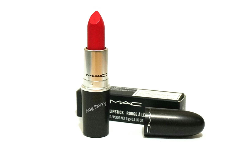 MAC La Vie En Rouge Matte Lipstick