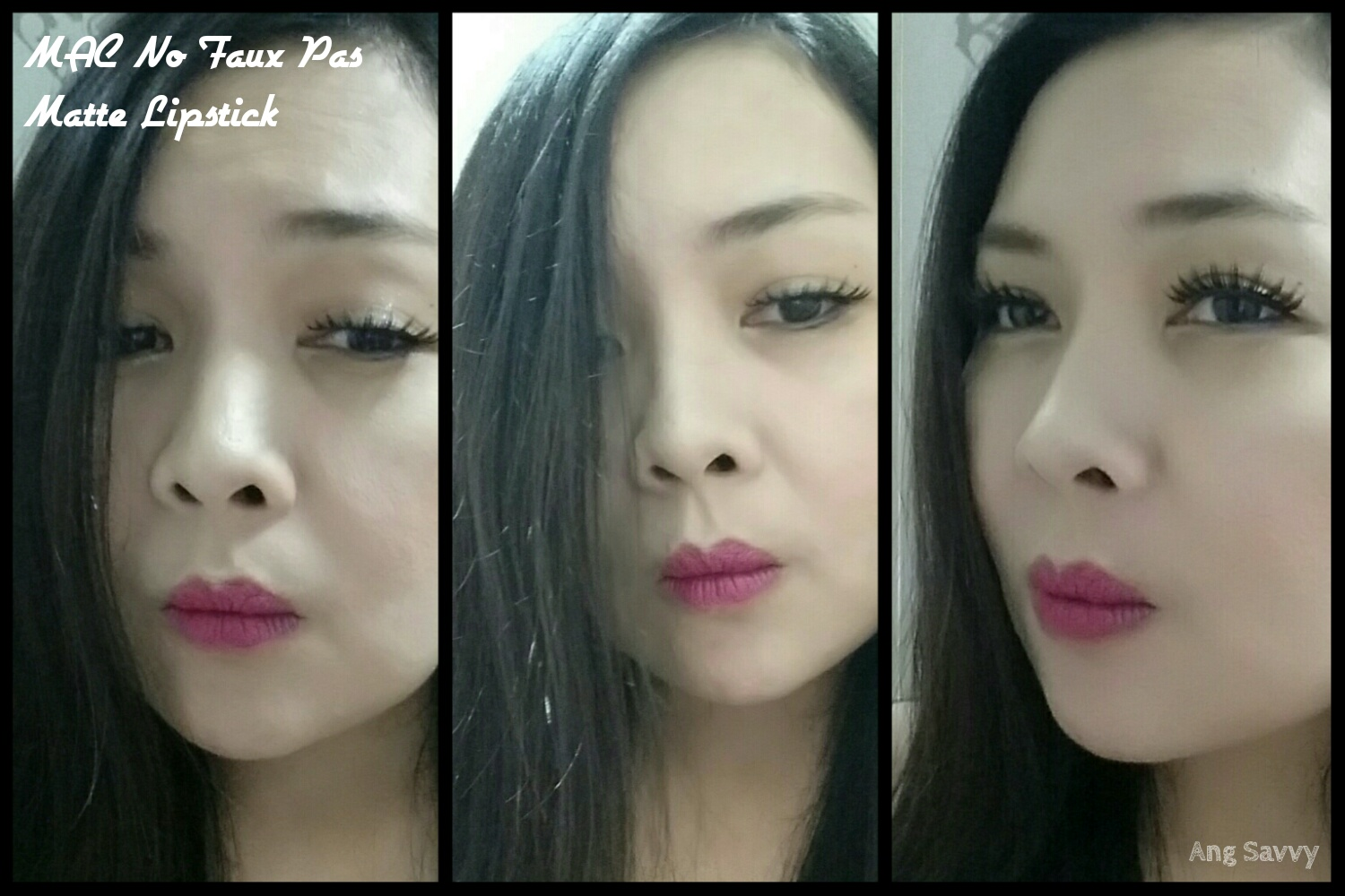 MAC No Faux Pas Matte Lipstick Swatch