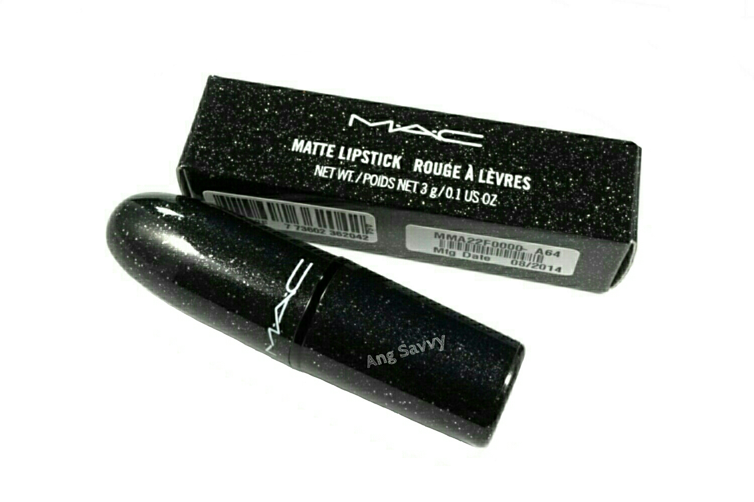 MAC Salon Rouge Matte Lipstick