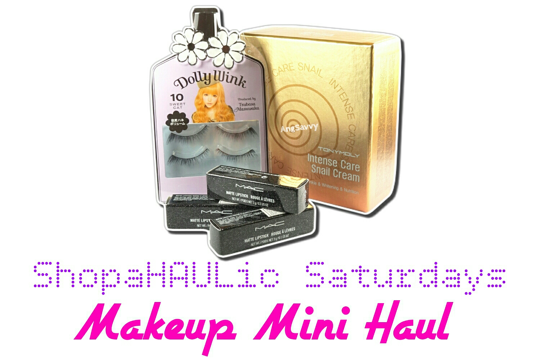 Makeup Mini Haul: MAC Heirloom Mix, Tony Moly Snail and Dolly Wink Falsies