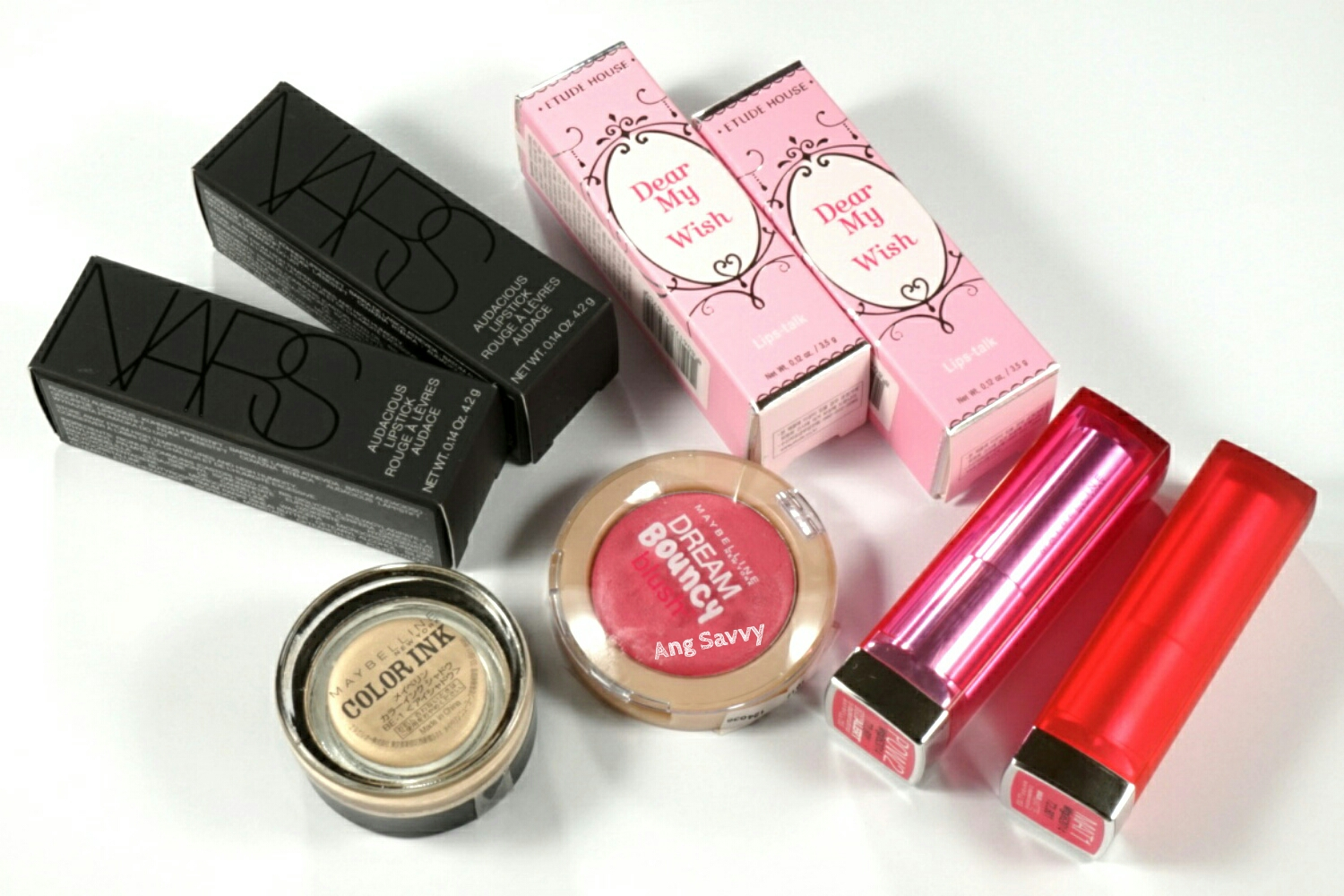 Makeup Mini Haul: NARS, Maybelline and Etude House