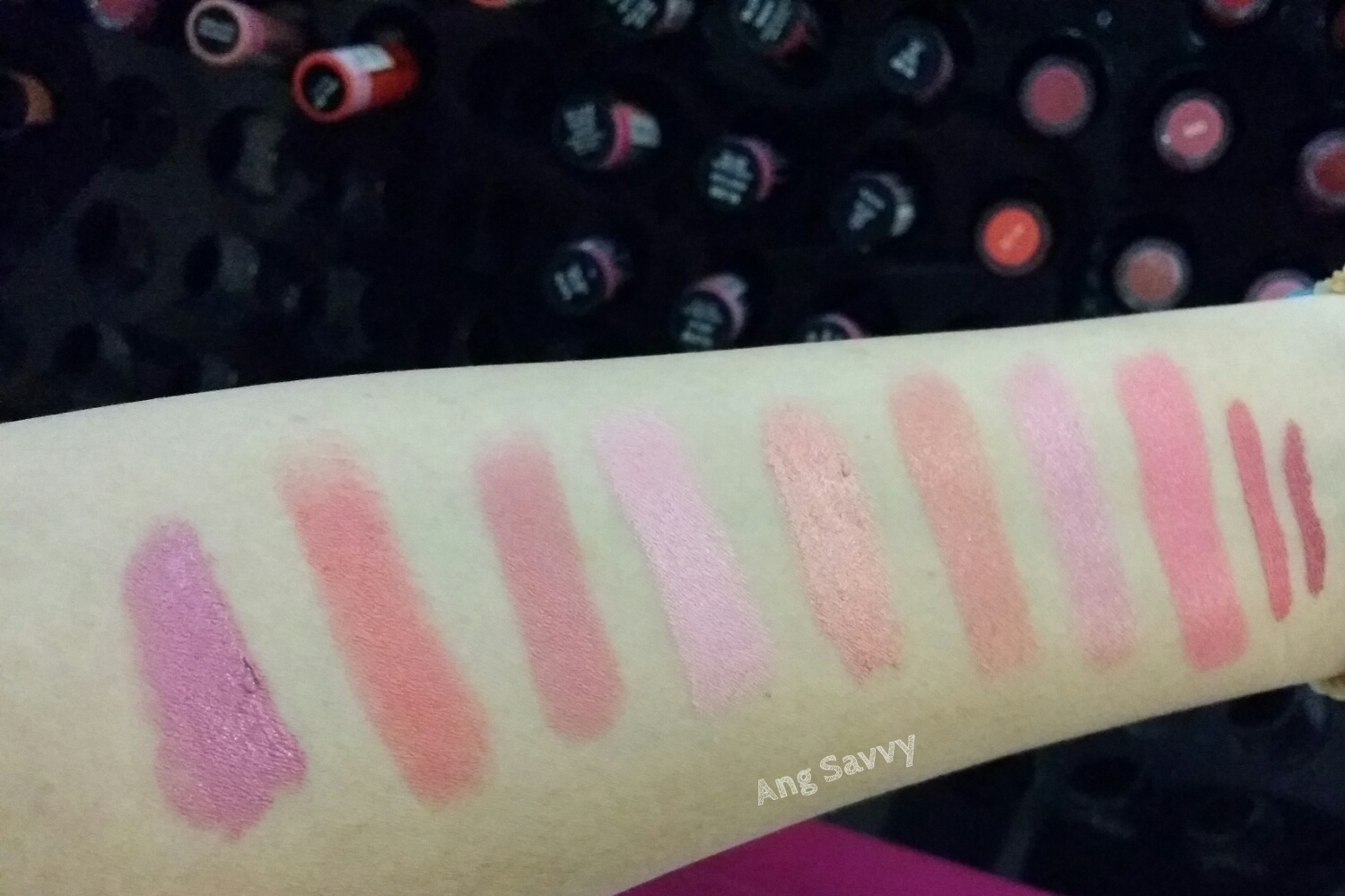 Makeup Mini Haul: NYX Swatch