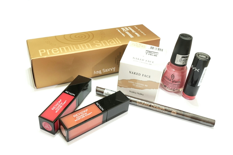 Makeup Mini Haul: Revlon, NYX, China Glaze, Tony Moly and Holika Holika