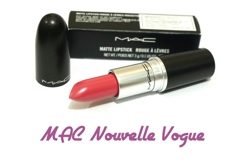 Best Pink Lipsticks 2014 MAC Nouvelle Vogue