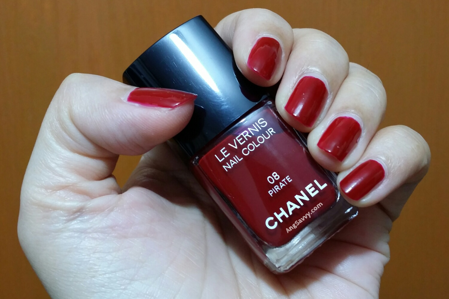 Chanel Pirate Nail Polish Swatches