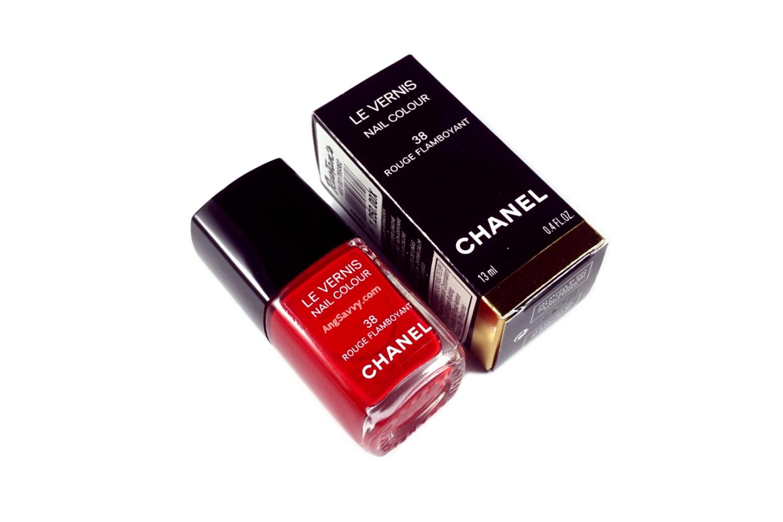 Chanel Rouge Flamboyant (38) Le Vernis