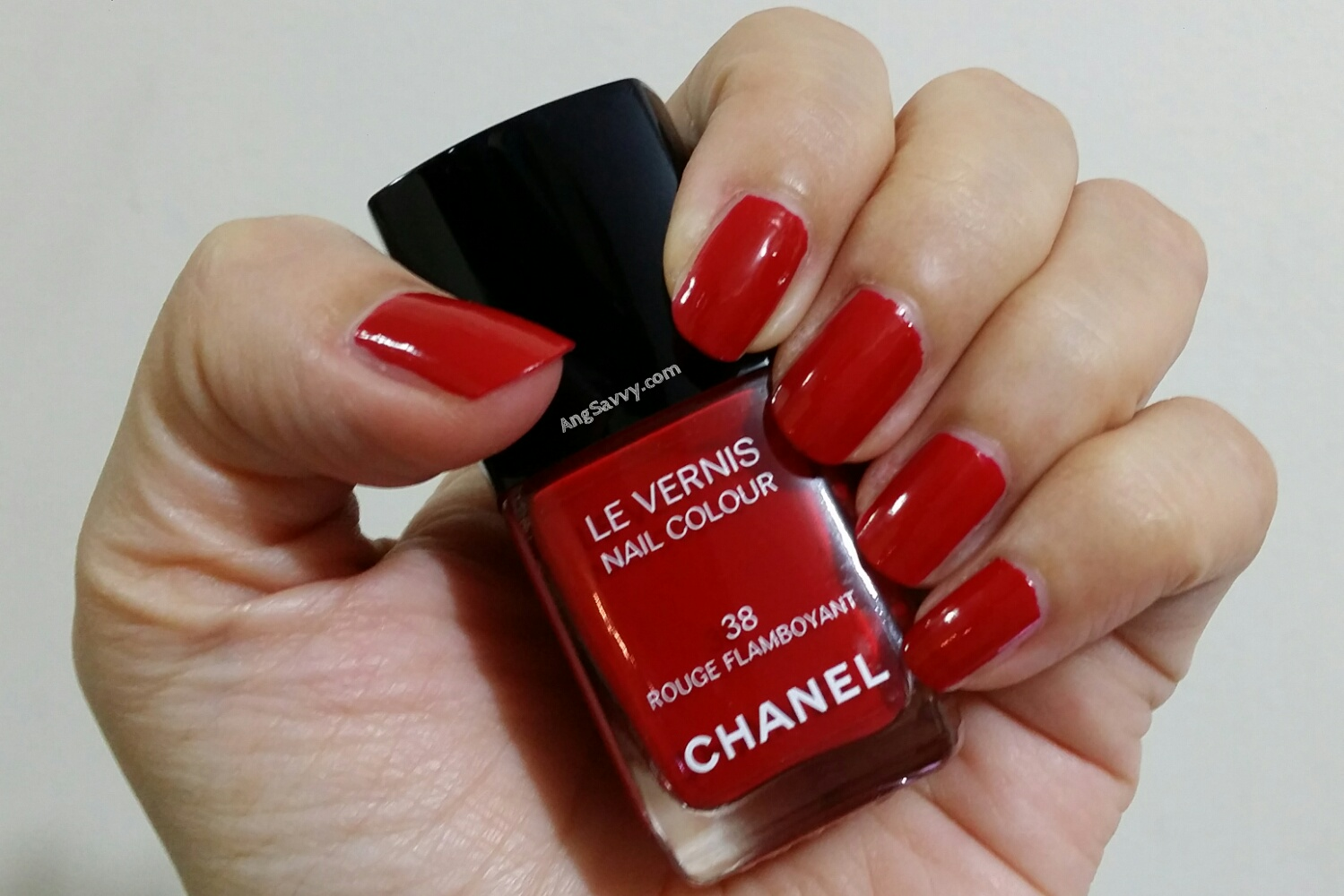 Chanel Rouge Flamboyant (38) Le Vernis Swatch