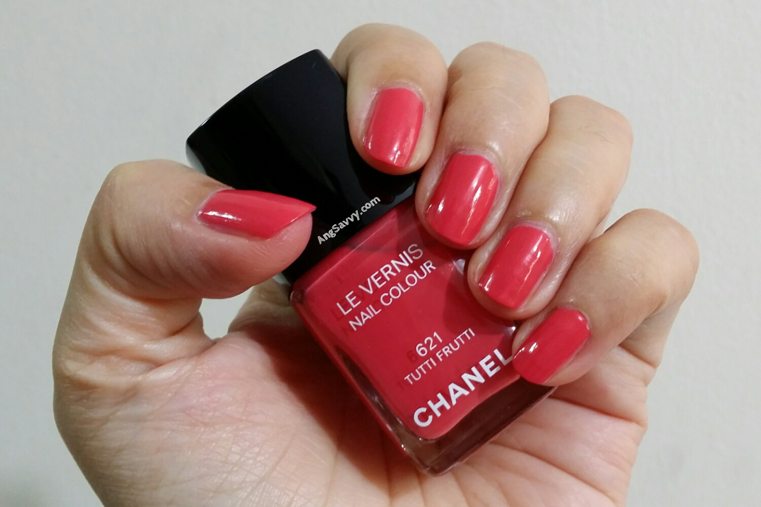Chanel Tutti Frutti Nail Polish Swatch
