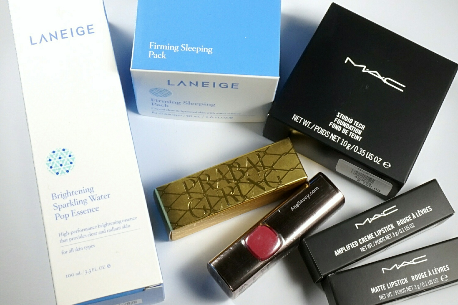 Makeup Haul: MAC, Laneige, L'Oreal