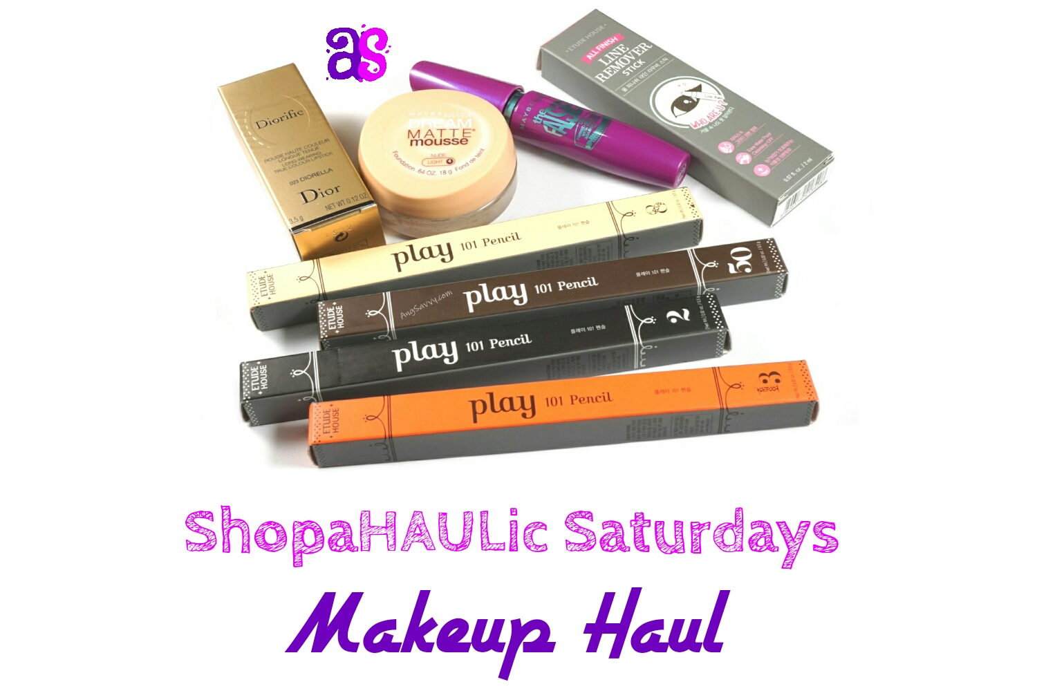 Makeup Haul: Dior, Maybelline, Etude House