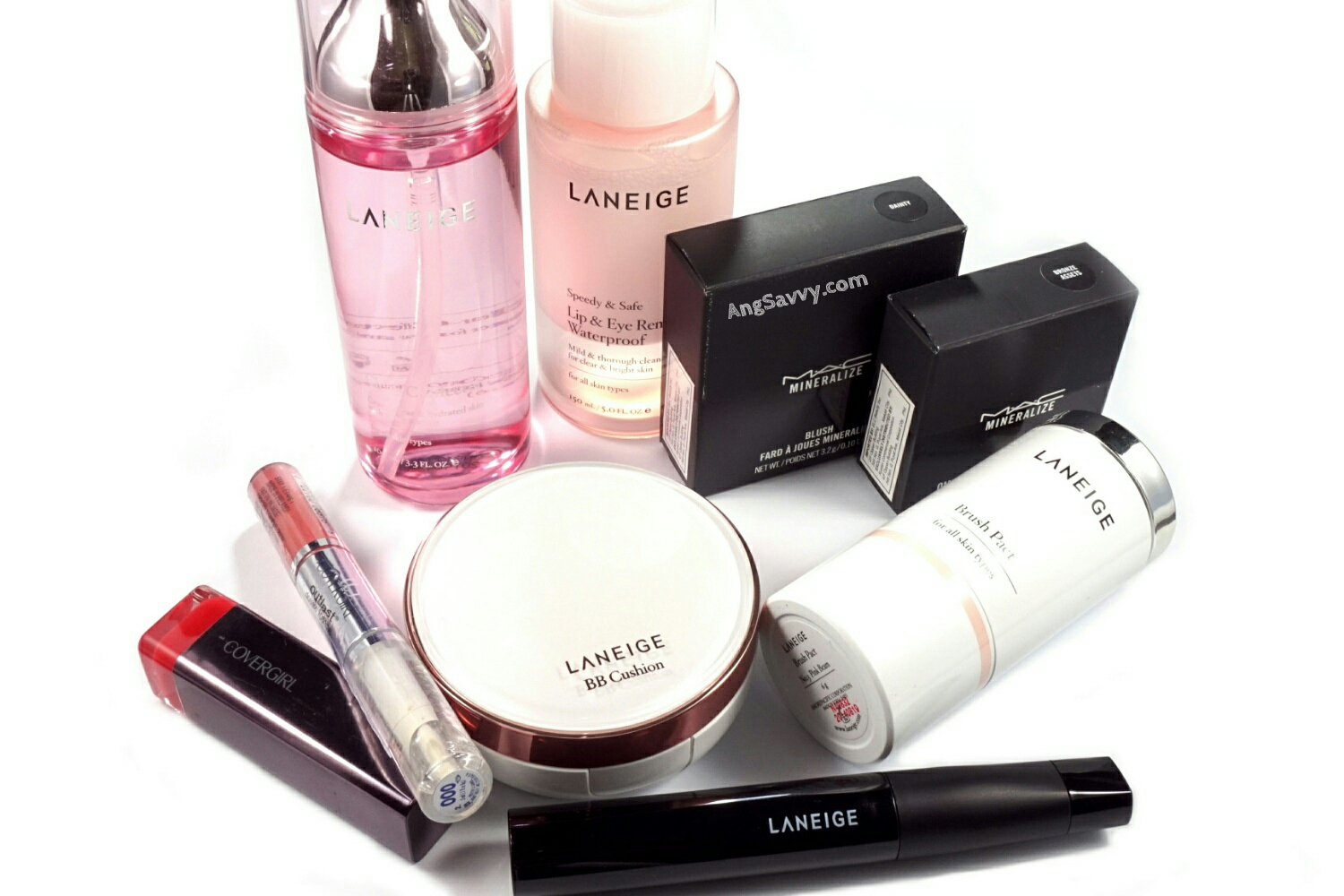 Makeup Mini Haul: MAC Mineralize, Covergirl and Laneige