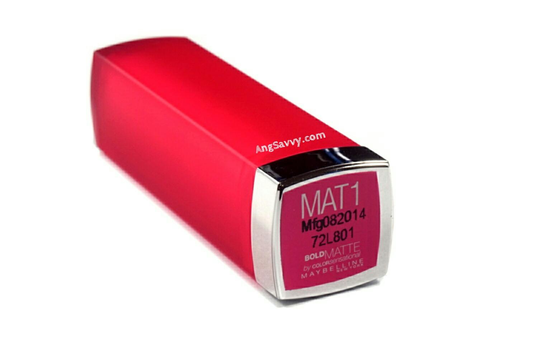 Maybelline Bold Matte Mat 1