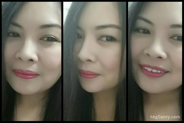Maybelline Color Sensational Bold Matte MAT 1 Lipstick Swatch