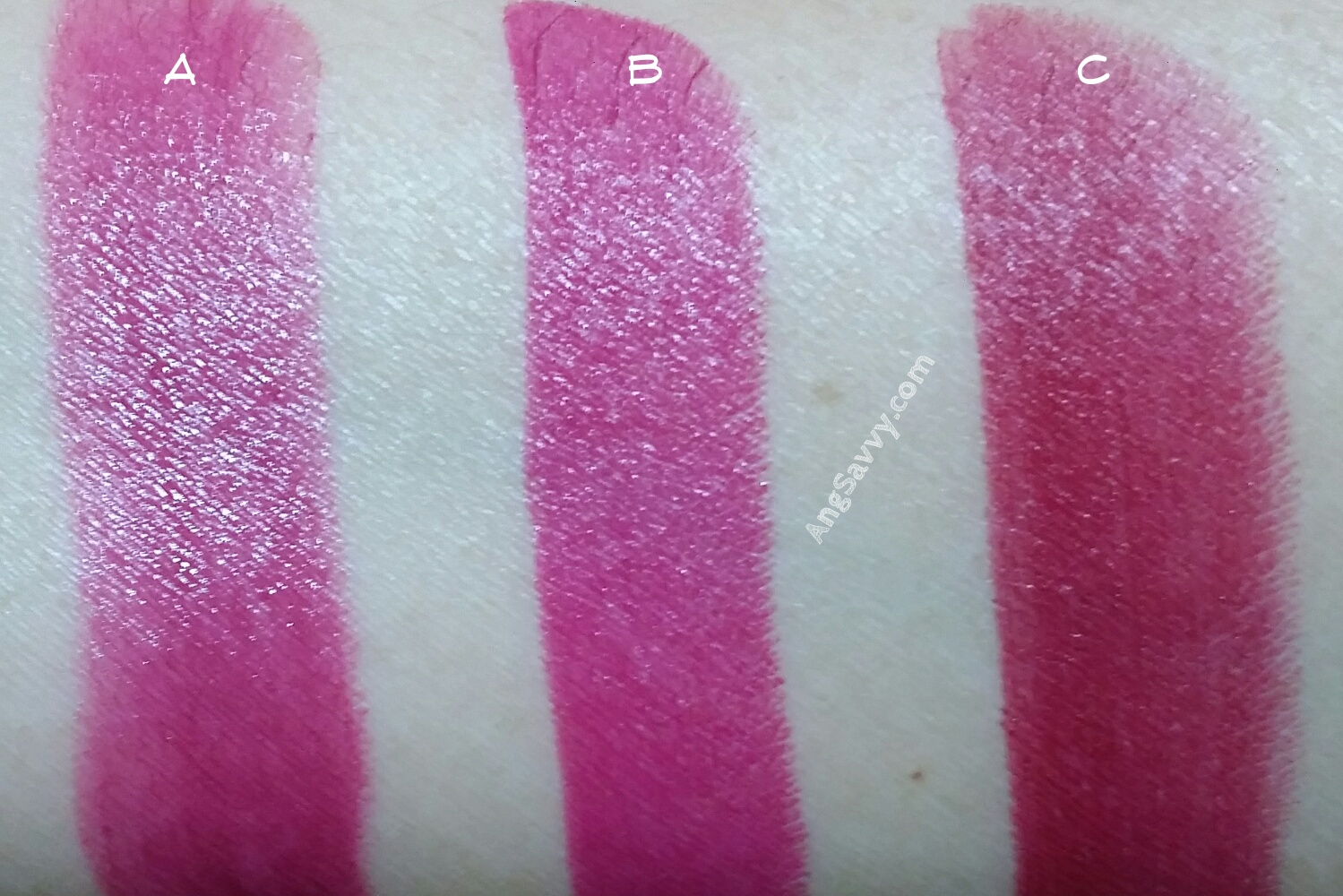 Maybelline Color Show Plum Perfect Swatches