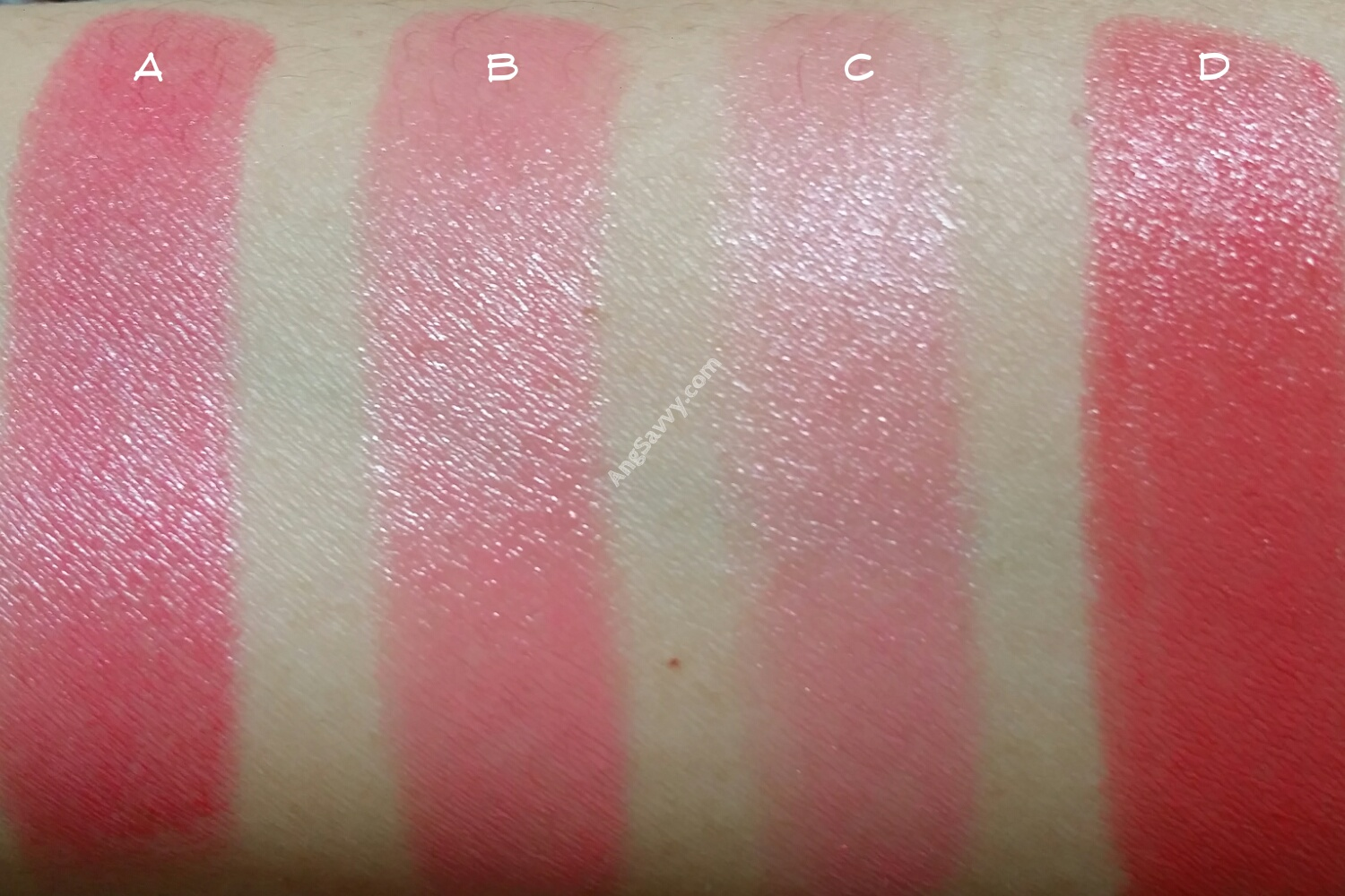 Maybelline Color Show Crushed Candy Lipstick Swatch